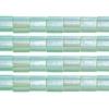 Miyuki Tila Beads 5X5mm 2 Hole Seafoam Green Transparent Luster